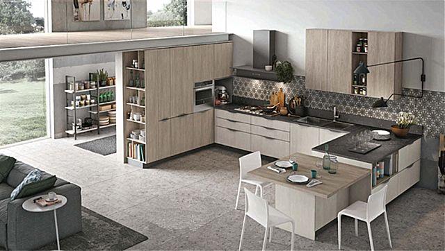 Κουζίνα μοντέρνα Stosa Infinity-Infinity Composizione 07