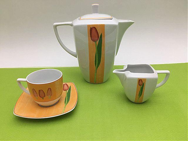 Σερβίτσιo Τσαγιού-Καφέ Karolina Zaklady porcelany Stot Dakar-8949