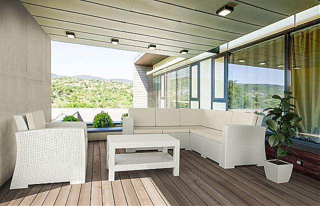 Καναπές κήπου Arva Monaco-Monaco Lounge Corner