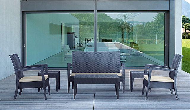 Καναπές κήπου Arva Monaco-Monaco Lounge Sofa 845
