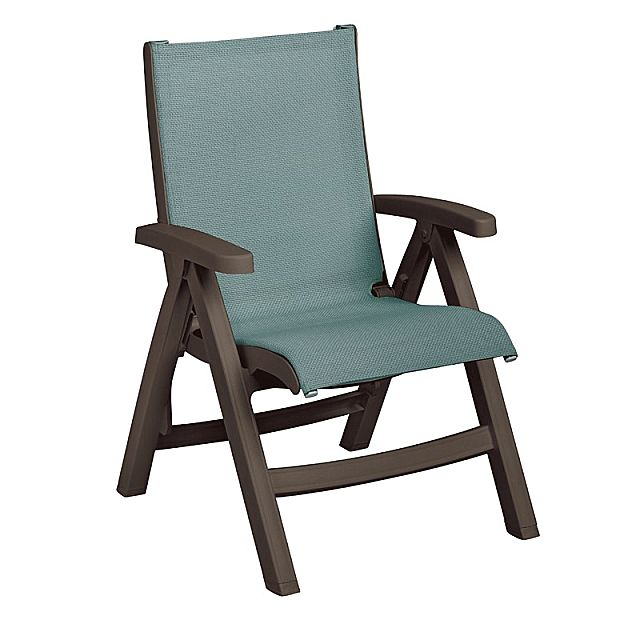 Πολυθρόνα κήπου Grosfillex Belize Midback Folding-Sling Chair