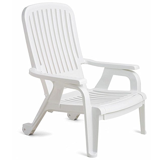 Πολυθρόνα κήπου Grosfillex Bahia Stacking-Deck Chair