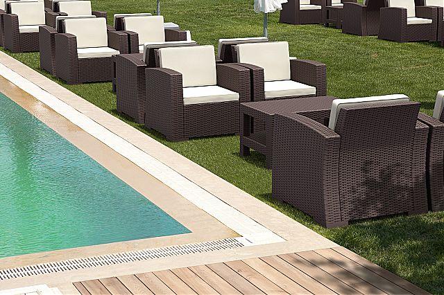 Πολυθρόνα κήπου Siesta Monaco Lounge-Monaco armchair