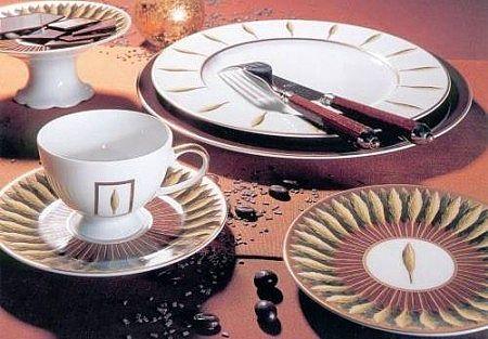 Σερβίτσιο πιάτων-φαγητού Phillipe Deshoulieres Toscane Jardin & Florance-Toscane Jardin & Florance