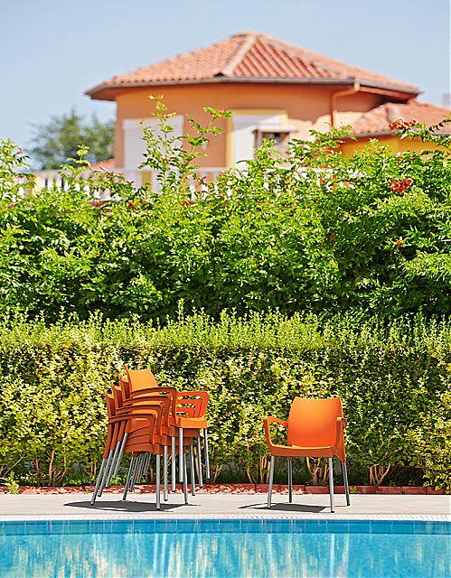 Πολυθρόνα κήπου Siesta Dolce Stacking armchair-Dolce