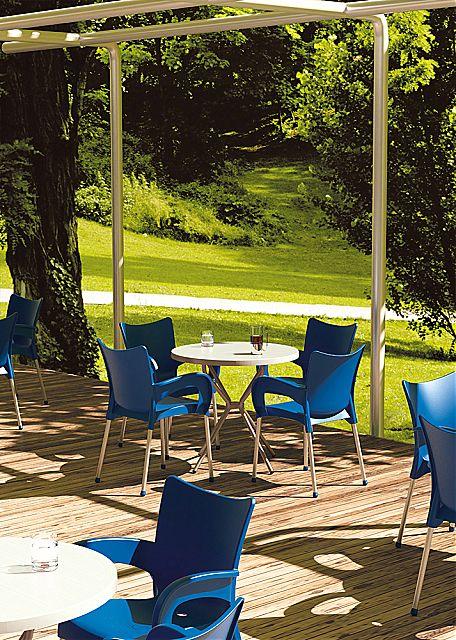 Πολυθρόνα κήπου Siesta Romeo Stacking armchair-Romeo