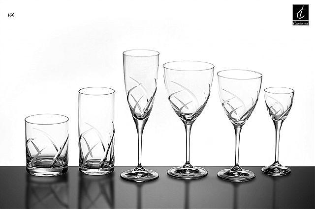 Σερβίτσιο ποτηριών Κεσίσογλου Κate-166