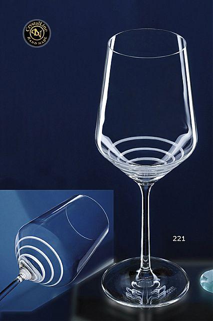 Σερβίτσιο ποτηριών Κεσίσογλου Pure-221