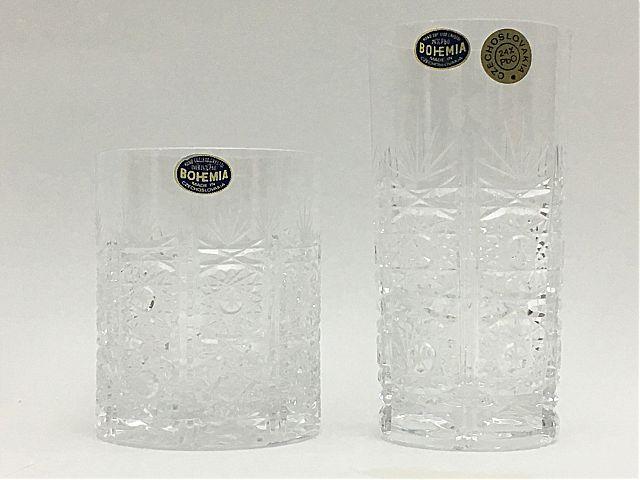 Σερβίτσιο ποτηριών Bohemia Cristal 41265-41265