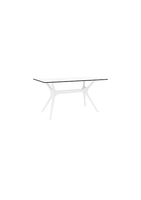 Τραπεζάκι κήπου Siesta Ibiza Table rattan leg 104-Ibiza 140