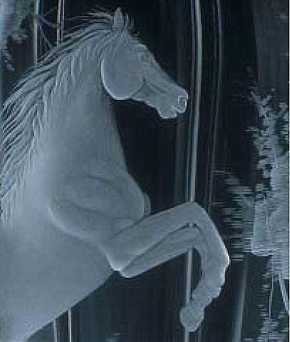 Βάζο Mosers 592-Prancing Horse