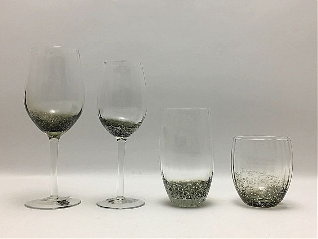 Σερβίτσιο ποτηριών Κεσίσογλου Illusion-Grey