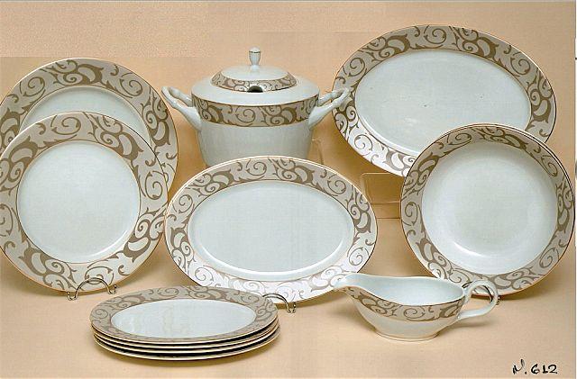 Σερβίτσιο πιάτων-φαγητού Christinholm Porcelaine Exclusive Edition 612-612