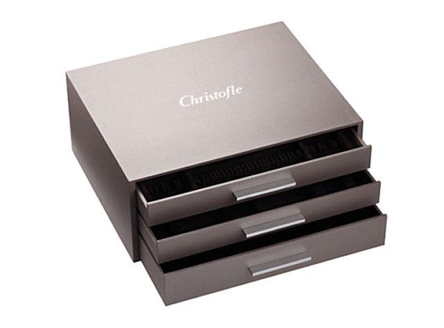 Βαλίτσα-Κασετίνα για μαχαιροπίρουνα Christofle Ambassador- 07211540