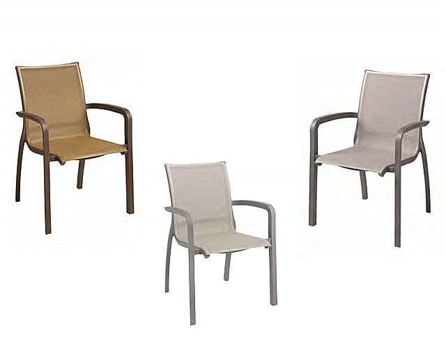 Πολυθρόνα κήπου Grosfillex Designer's Choice-Sunset Sling armchair