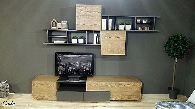 Συνθέση τοίχου σαλονιού Sofa And Style Code-Code
