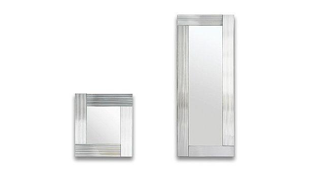 Καθρέφτης Riflessi Flute Ribbed Glass Mirror-Flute