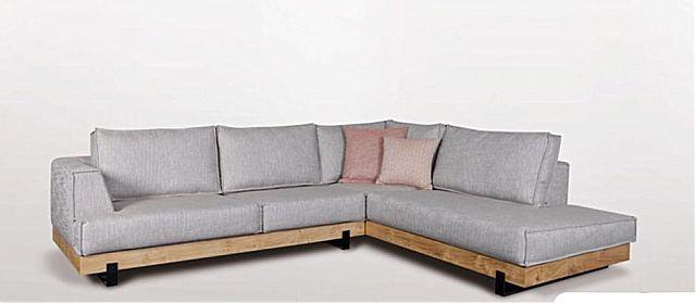 Καναπές γωνιακός Sofa And Style Rustic-Rustic