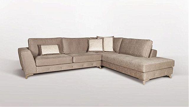 Καναπές γωνιακός Sofa And Style Maison-Maison