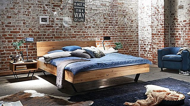 Κρεβάτι ξύλινο Sofa And Style paris-play