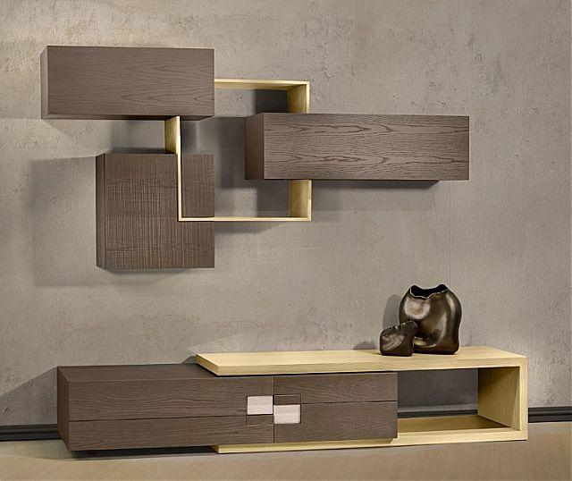 Συνθέση τοίχου σαλονιού Sofa And Style epiplostyle-passion