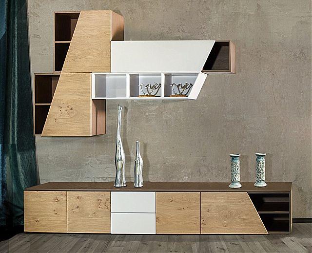 Συνθέση τοίχου σαλονιού Sofa And Style epiplostyle-limit