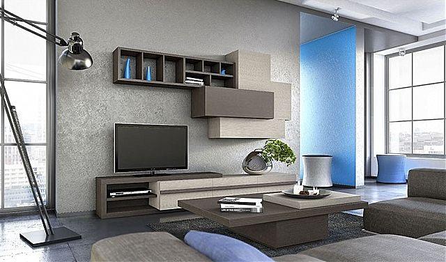 Συνθέση τοίχου σαλονιού Sofa And Style kogias-bonus