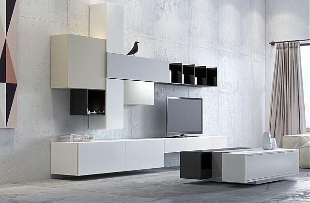 Συνθέση τοίχου σαλονιού Sofa And Style noto-arredo
