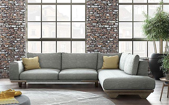 Καναπές γωνιακός Sofa And Style alfa saloni-nostos