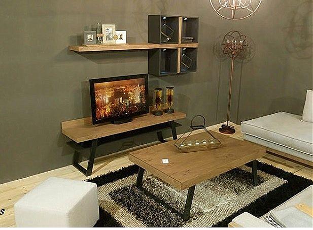 Συνθέση τοίχου σαλονιού Sofa And Style kogias-venus