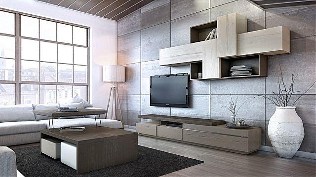 Συνθέση τοίχου σαλονιού Sofa And Style kogias-box