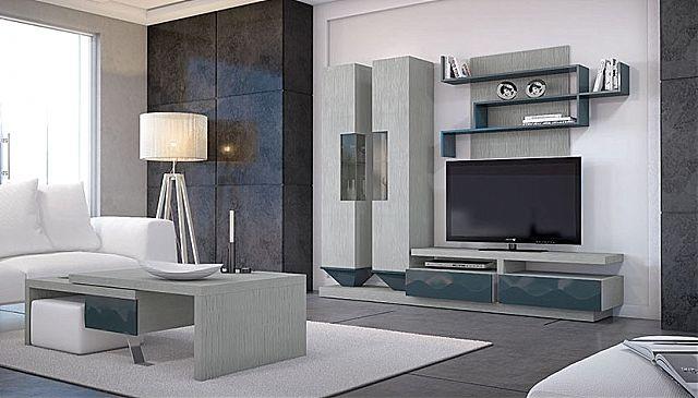 Συνθέση τοίχου σαλονιού Sofa And Style kogias-mito