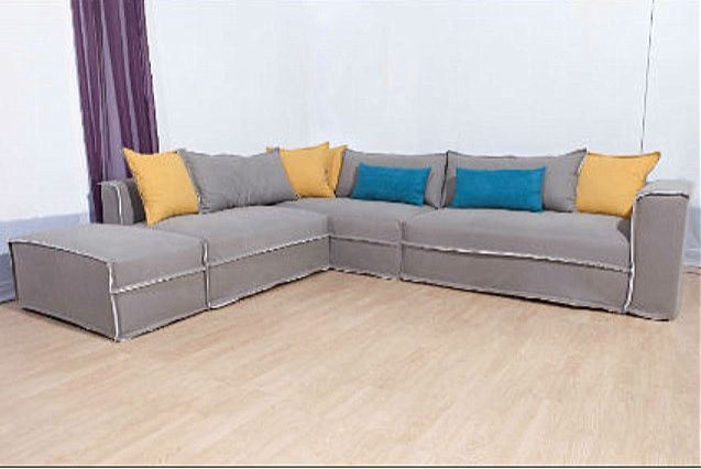 Καναπές γωνιακός Sofa And Style sofart-vogue