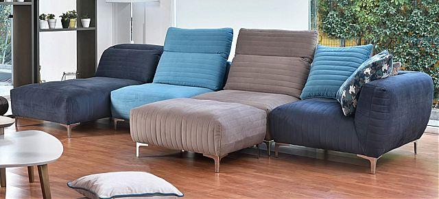 Καναπές γωνιακός Sofa And Style galerie-sofa flex