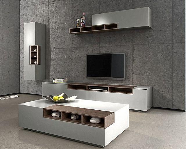 Συνθέση τοίχου σαλονιού Sofa And Style notos-pure