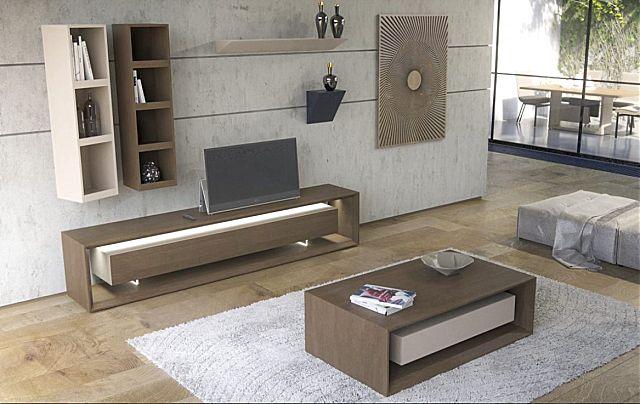 Συνθέση τοίχου σαλονιού Sofa And Style notos-vista