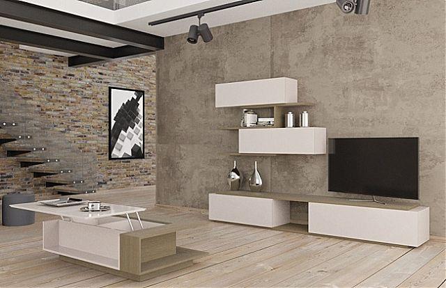 Συνθέση τοίχου σαλονιού Sofa And Style notos-play