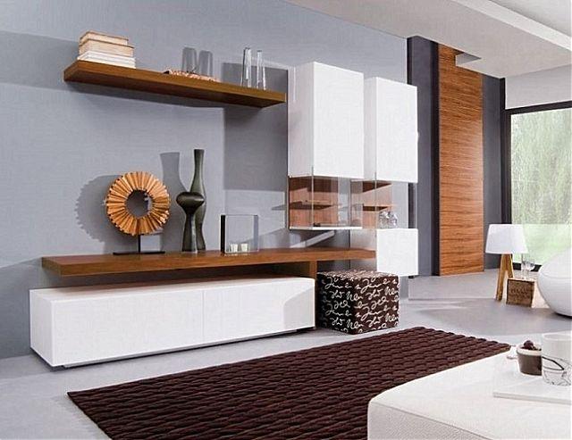 Συνθέση τοίχου σαλονιού Sofa And Style notos-domus