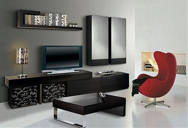 Συνθέση τοίχου σαλονιού Sofa And Style notos-nova