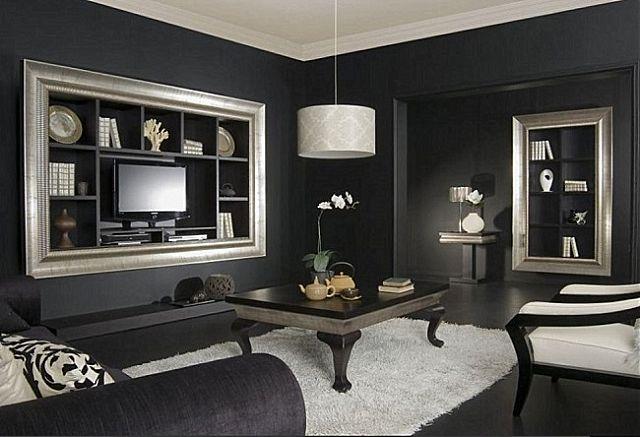 Συνθέση τοίχου σαλονιού Sofa And Style notos-amore
