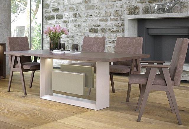 Τραπέζι τραπεζαρίας Sofa And Style noto-vista