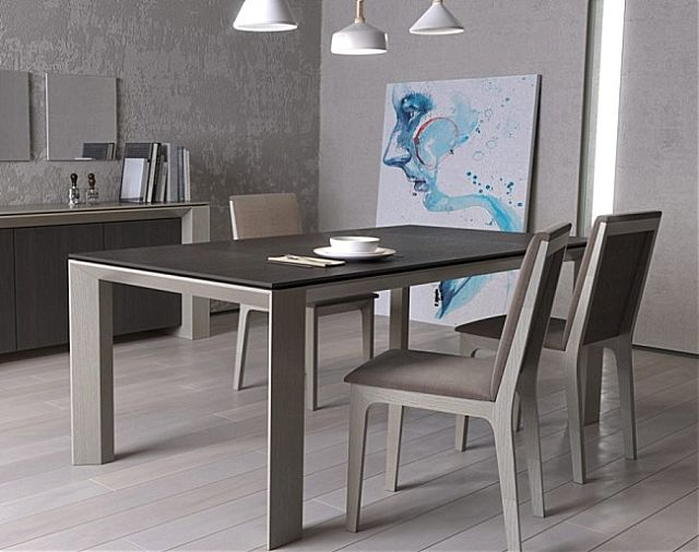 Τραπέζι τραπεζαρίας Sofa And Style notos-flat