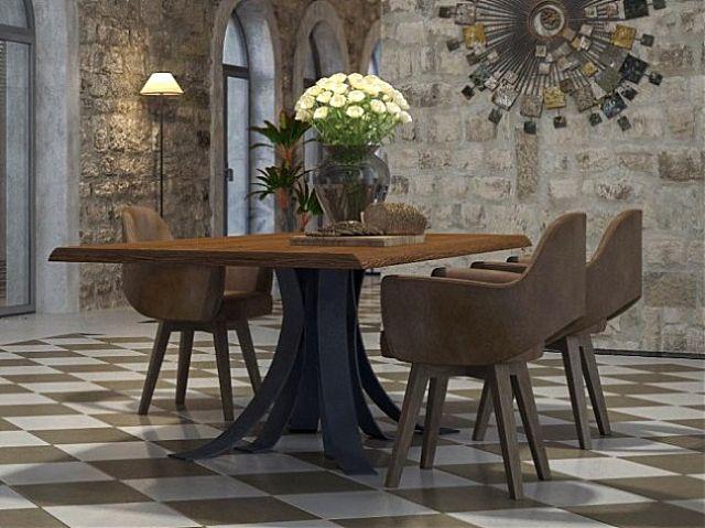 Τραπέζι τραπεζαρίας Sofa And Style noto-antico
