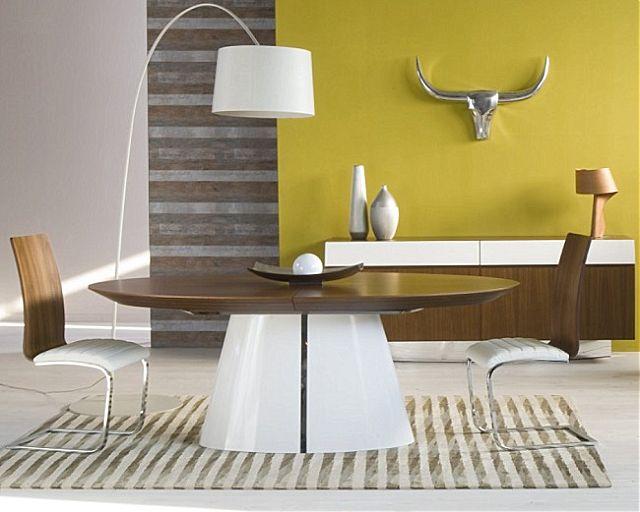 Τραπέζι τραπεζαρίας Sofa And Style noto-mossa