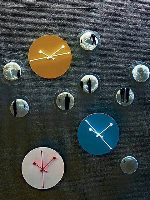 Ρολόι τοίχου Alessi Dotty Clock-ABI11