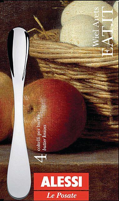 Μαχαίρι φαγητού Alessi Eat.it -WA10/37S4