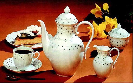 Σερβίτσιο πιάτων-φαγητού Kaiser Porcelain Romantica-Rimini