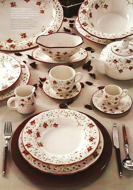 Σερβίτσιο πιάτων-φαγητού Tiffani Rosaspina-Rosaspina