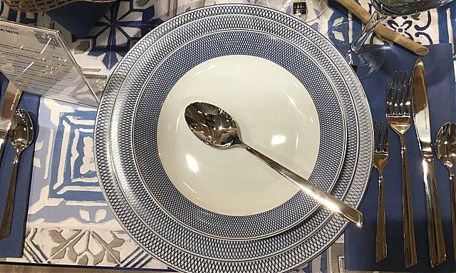 Σερβίτσιο πιάτων-φαγητού Κεσίσογλου Ellipsis-Blue