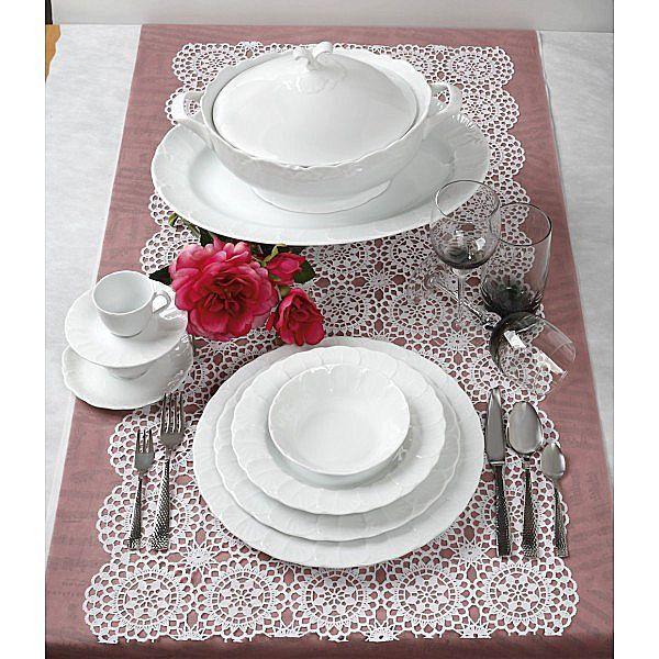 Σερβίτσιο πιάτων-φαγητού Cryspo Trio Jasmine-Jasmine
